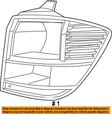 Dodge CHRYSLER OEM Journey Taillight Tail Light-Rear-Combo Lamp Right 68078464AD
