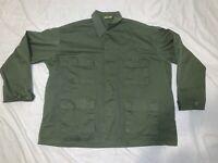 ROTHCO Military Style OG Green  OG 107 COMBAT STYLE Jacket Top XLARGE REGULAR