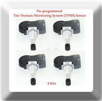 4 Kits VDO REDI Sensor Pre-programmed 315HZ TPMS Tire Pressure Sensor