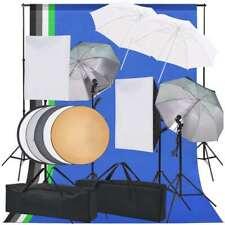 Vidaxl kit Iluminación estudio Fotográfico softbox paraguas fondo Fotografía