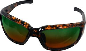 Bimini Bay Polarized Sunglasses T-BB4-AG Amber Green Lens Fishing Beach Outdoors