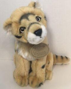Classic Aurora Cheetah plush tan black spots w/ Tags + neck badge stuffed animal