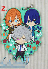 TT104 Hot Anime Uta no Prince-sama rubber Keychain Key Ring Rare Straps Cosplay