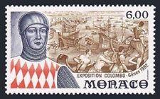 Monaco 1819,MNH.Michel 2076. Columbus Exposition,Genoa-1992.Ships.