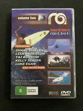 Ra Boardriders Volume 2 DVD - Ride it live it Surfing Skateboarding Snowboard