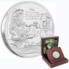 2016 Alice in Wonderland 1oz Proof Silver Coin