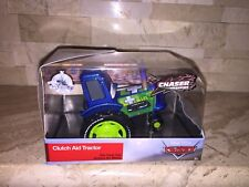 DISNEY CARS CLUTCH AID TRACTOR STORE EXCLUSIVE CHASER DIECAST CAR