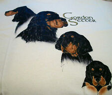 "Gordon Setter T-shirt "" White "" 2Xl ( 50 ~ 52 )"