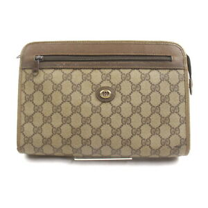 Gucci Clutch Bag  Browns PVC 1534708