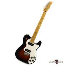 FenderModern Player Telecaster Thinline Deluxe Guitar – 3-Color Sunburst