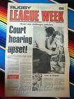 ✺RUGBY LEAGUE WEEK✺ 1978 Vol 9 No 13 MANLY SEA EAGLES John Gibbs NRL Big