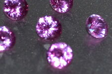 NEW A Single 4mm Amazing Bright Pink Enhanced Natural SAPPHIRE
