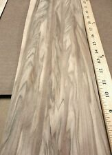 "Red Gum figured wood veneer 6"" x 123"" raw no backing ""AA"" grade 1/42"" thickness"