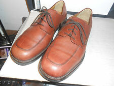 MEPHISTO Air-Relax Goodyear Welt Brown Leather Casual Mens Oxfords Shoes 12.5 US