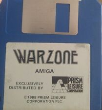 Warzone (Commodore Amiga Diskette) (Prism Leisure 1988)
