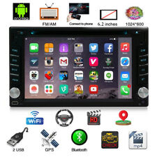Android 8.1 2Din Car DVD CD Player Stereo Radio GPS Navigation OBD 4G WIFI +CAM
