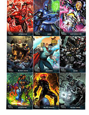 2015 DC  Super - Villains Mini master card set and Wrapper by Cryptozoic