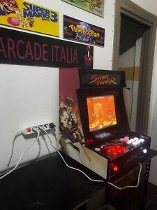 Bartop cabinet arcade