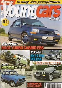 YOUNGCARS 1 BMW 320i CABRIOLET E30 MERCEDES 250 W123 A112 ELEGANT BX19 POLICE
