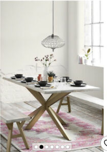 NEXT Amsterdam dining table - Current Season RRP £725