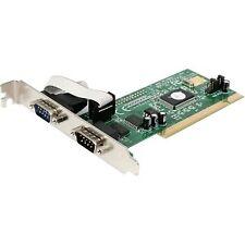 Startech.com tarjeta adaptadora PCI de 2 puertos