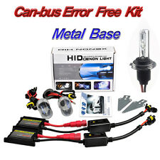 METAL BASED BULBS H7 6000K 55W CANBUS XENON HID CONVERSION KIT ERROR FREE