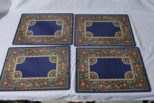 Pimpernel Placemats Floral & Fruit Made in England Lot of 4