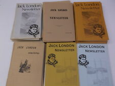 44 Jack london News Letters 1969 to 1980 1-good 43 very good