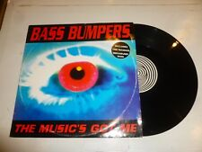 "BASS BUMPERS - The Music's Got Me - 1993 UK 3-track 12"" Single"