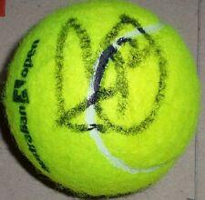 Novak Djokovic RARE HAND SIGNED AUSTRALIAN OPEN TENNIS BALL WITH COA AUTOGRAPH