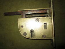 A rare old Kaye's patent lock perhaps from a railway carriage