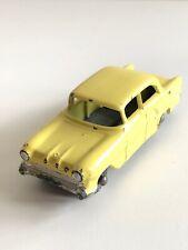 Matchbox Lesney 45 Vauxhall Victor Yellow - Metal Wheels - w/o Dashboard - VG