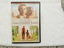 GOODBYE CHRISTOPHER ROBIN - (DVD, 2017) - DOMHNALL GLEESON / MARGOT ROBBIE