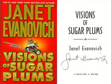 Janet Evanovich SIGNED AUTOGRAPHED Visions of Sugar Plums HC 1st Ed 1st Print