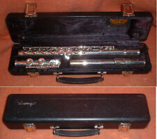 Armstrong Model 102 USA Flute With Hard Shell Case CLEAN!
