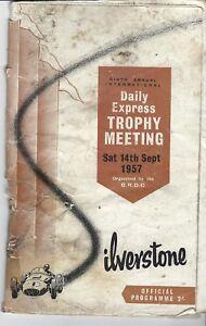 International Trophy - Silverstone F1 meeting 1957