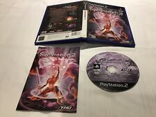 PS2 Summoner 2 - Black Label Case Disk Manual Complete