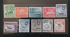 ADEN 1964 QE II 5c to 2s SG 77 - 68 Sc 66 - 75 wmk 12 pictorial set 10 MNH