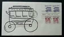 USA Classic Omnibus 1983 Transport Vehicle Car (stamp FDC)