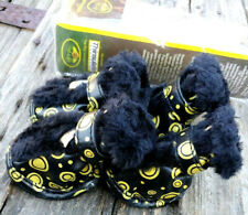 Pet Life Paw Wear Dog Shoes With Thinsulate Black & Yellow Size Small New Open