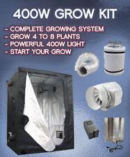 400w KIT Grow Tent, A DOPPIO SPETTRO, Tenda 100cmx100cmx200cm, Kit di ventilazione completo