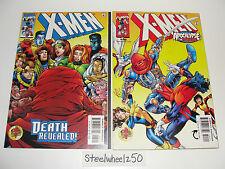X-Men #95 & 96 2 Comic Lot Marvel 1999 Apocalypse 12 Death Wolverine Horsemen