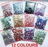 1100pcs Crystal Flat Back Acrylic Rhinestones Gems 3mm Nail Art/Craft UK Seller!