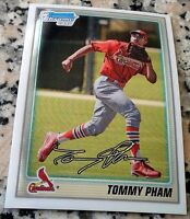 TOMMY PHAM 2010 Bowman Chrome Rookie Card RC LOT San Diego Padres $ HOT $