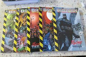 BATMAN NO MAN'S LAND VOLUME 1 2 3 4 5 SET TPB DC COMICS RARE OOP