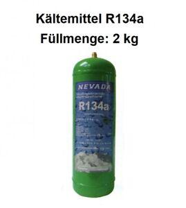 Kältemittel R134a Füllmenge 2 kg Eigentumsflasche nachfüllbar