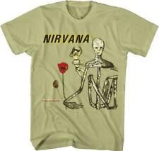 Nirvana Incesticide M, L, XL, 2XL Celery T-Shirt