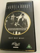 The way Out West vhs tape