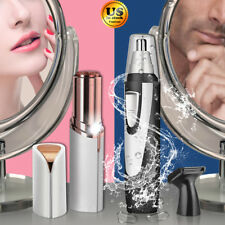 Women Painless Facial Face Fuzz Men Nose Hair Remover Trimmer Shaver