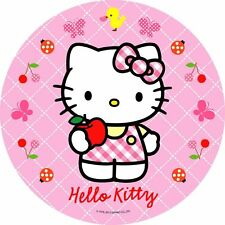 Tortenaufleger Hello Kitty Dekoration Tortenbild DVD Oblate Buch cd Muffin NEU